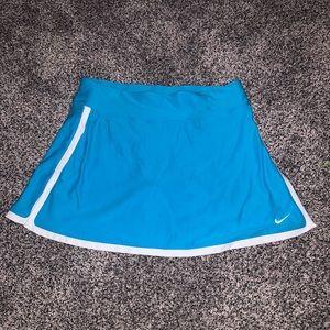Nike blue white tennis skirt skort small